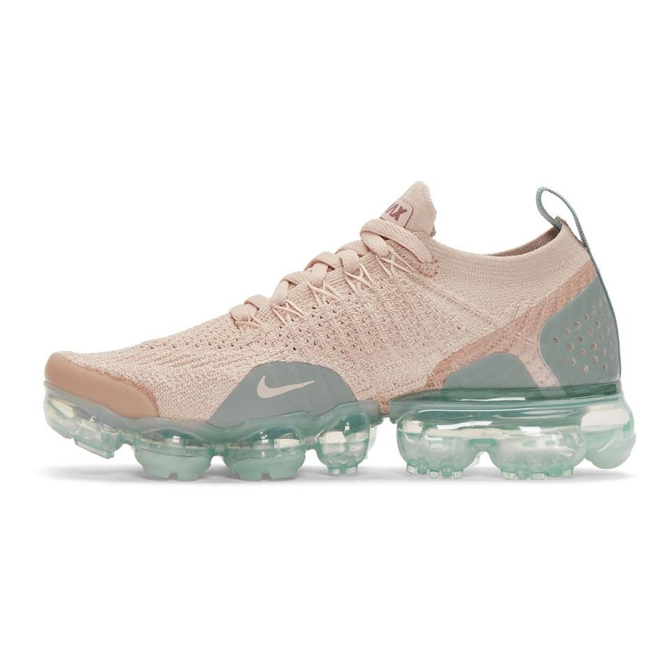 01df11b1bc Nike Pink And Blue Air Vapormax Flyknit 2 Sneakers in Natural - Lyst