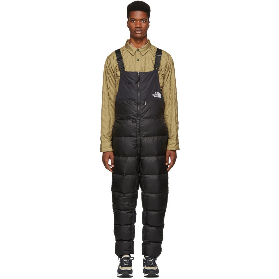 68045e0624 The North Face Black Nuptse Bib Trousers in Black for Men - Lyst
