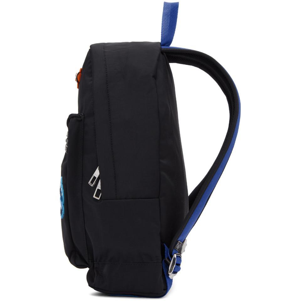 89ec65fb89 KENZO - Black Go Tigers Capsule Backpack - Lyst. View fullscreen