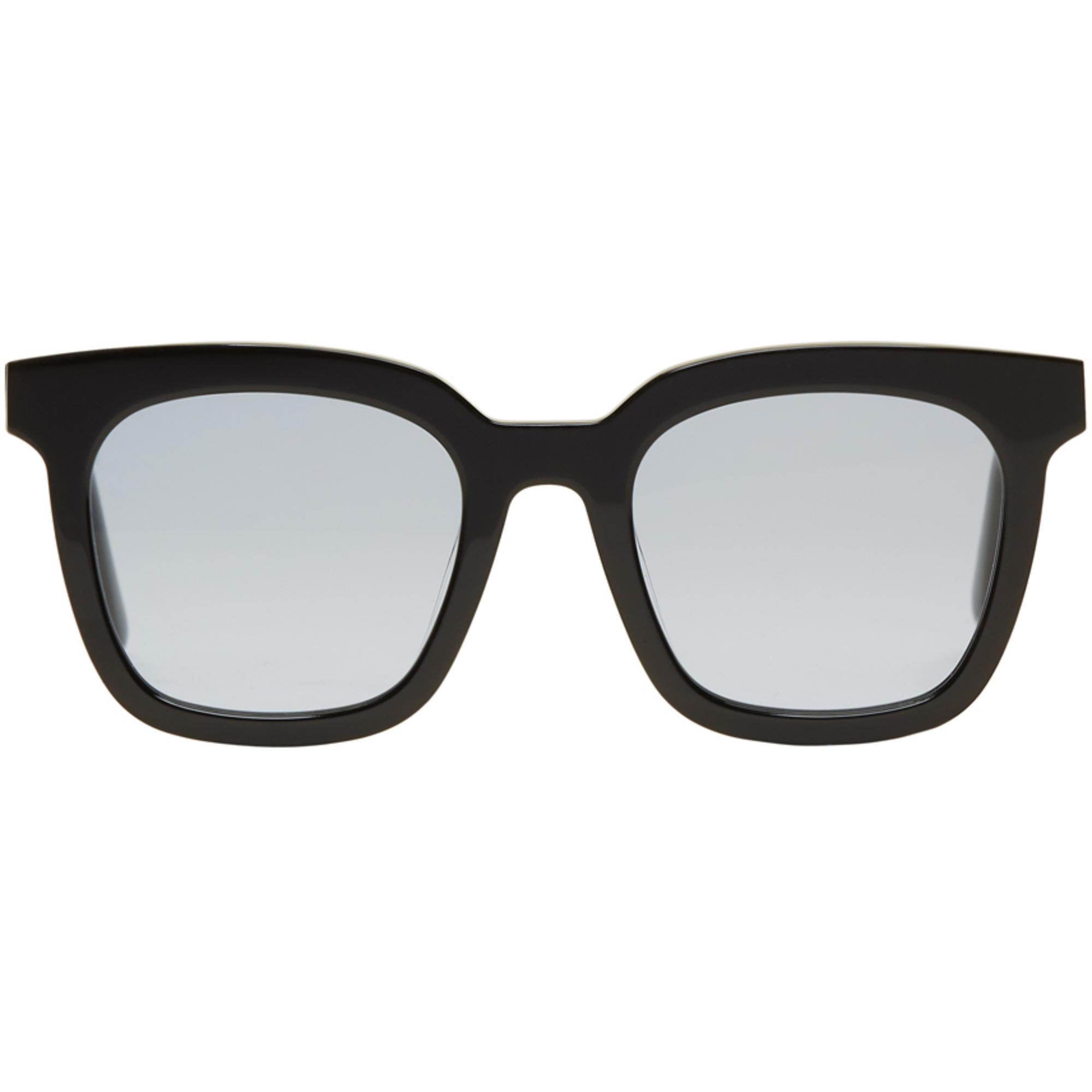 ca7d48633fe Lyst - Gentle Monster Black Large Finn Sunglasses in Black