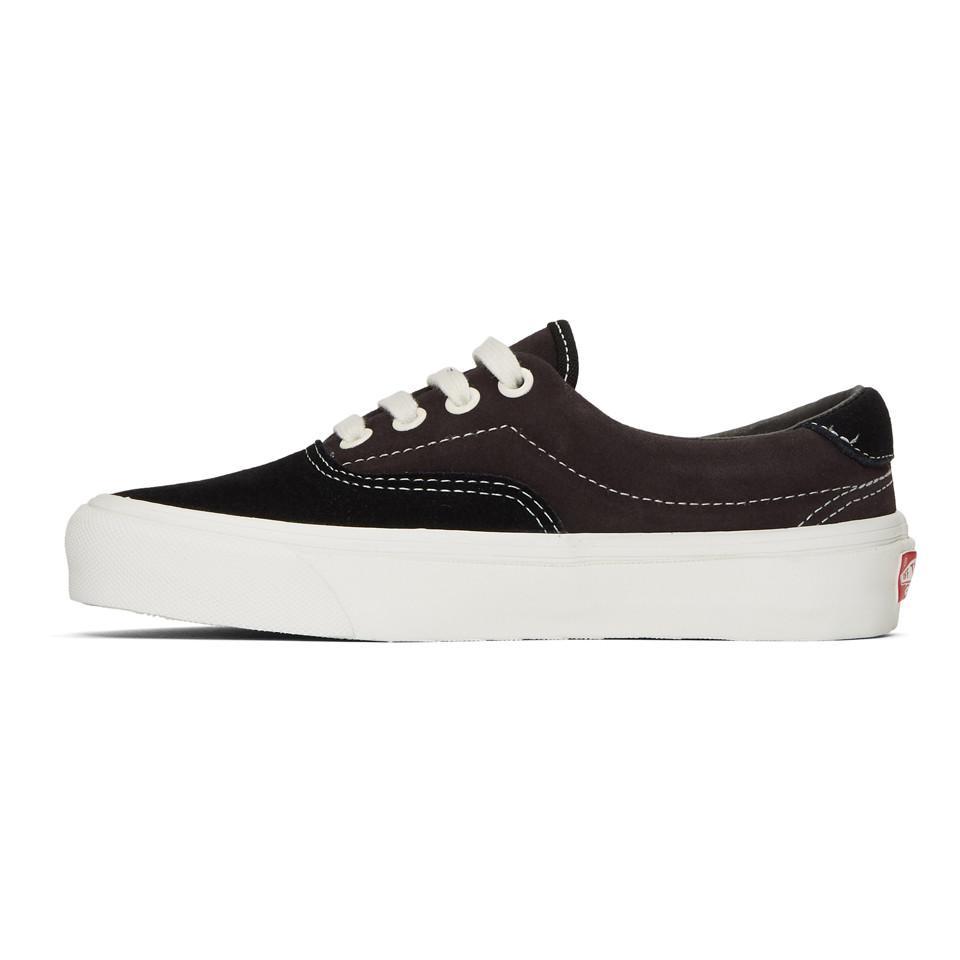 6835eadd6833 Vans - Black And Brown Suede Og Era 59 Lx Sneakers - Lyst. View fullscreen