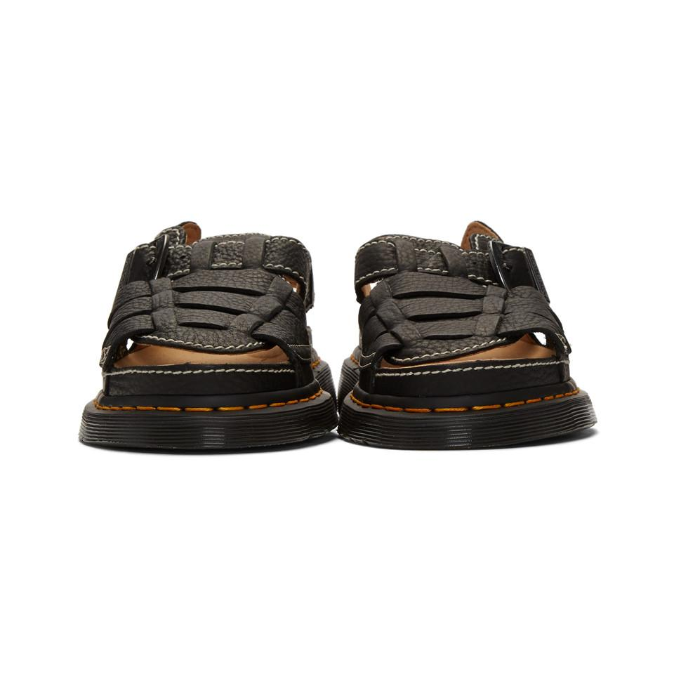 Men Black For Lyst Arc In Sandals 8092 DrMartens 5RLj3A4