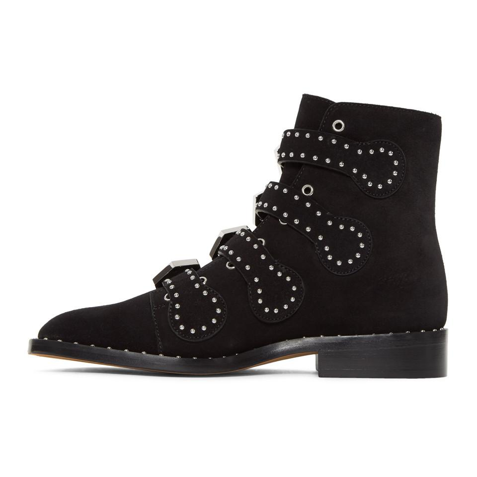 GivenchySuede Elegant Line Boots b6uxMZ