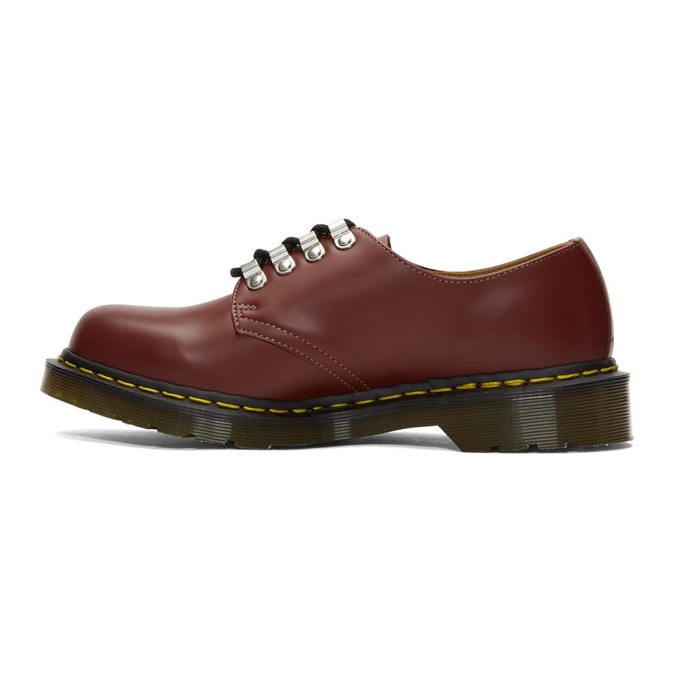 Red Dr. Martens Edition Kristinn Lace-up Derbys Comme Des Gar?ons 8NyzxpMFYp