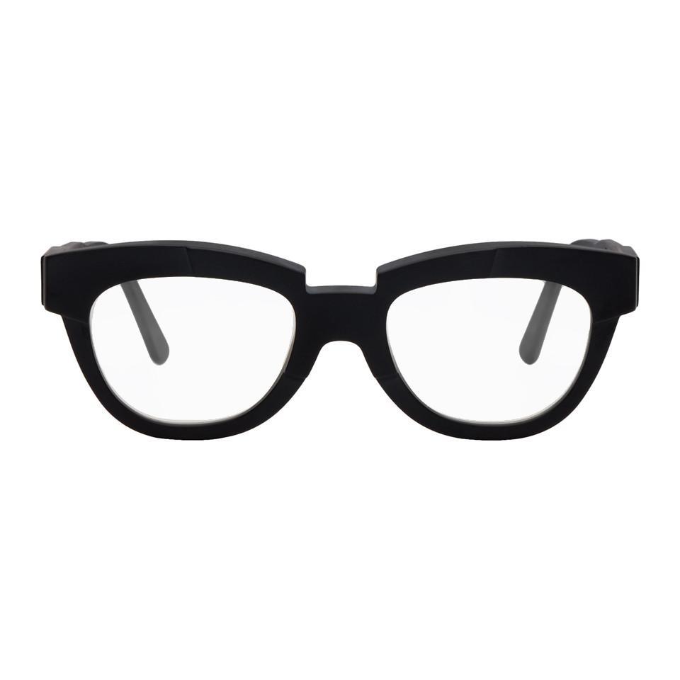 a57e24404d Kuboraum Black K19 Bs Glasses in Black for Men - Lyst