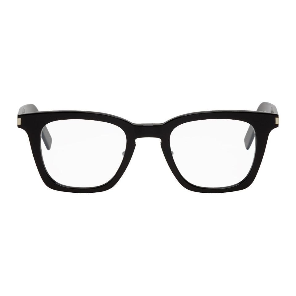 b7ce0d817f Saint Laurent Black Sl 139 Glasses in Black for Men - Lyst