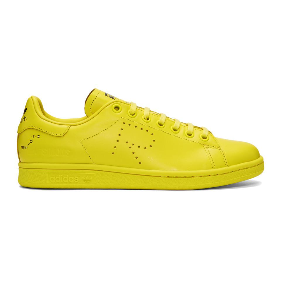 wholesale dealer 175fe 7b9bd Lyst - Raf Simons F34259 Rs Stan Smith in Yellow for Men