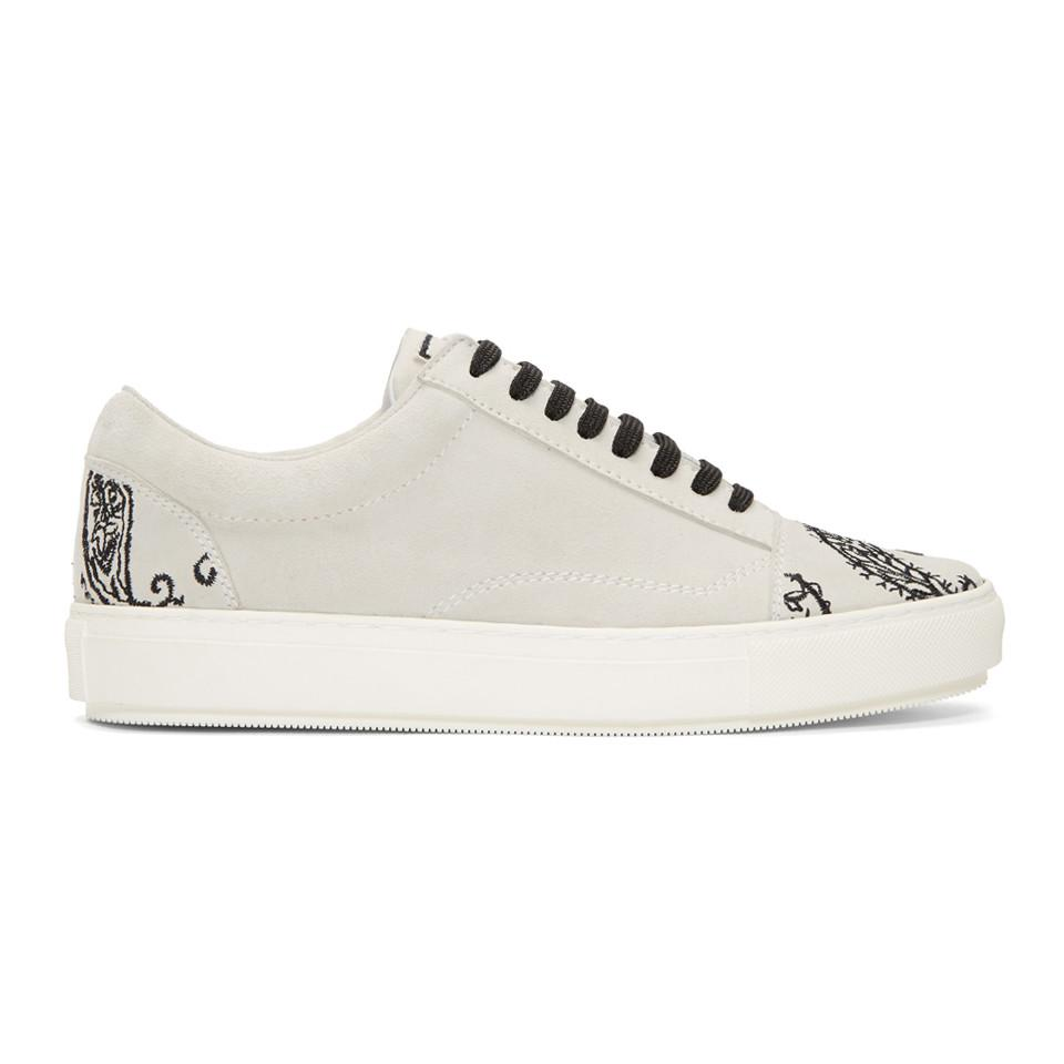 Wooyoungmi White Softy Slip-On Sneakers 0hhsu5A1R