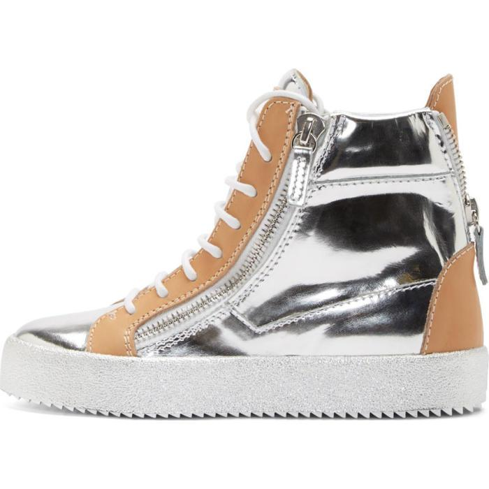 Giuseppe Zanotti & Leather May London Wedge Sneakers 3VFrzpH1B