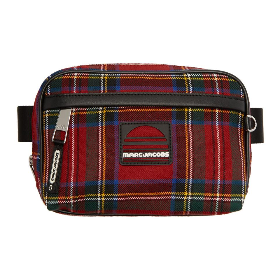 Red Tartan Sport Belt Pouch Marc Jacobs Cheap Sale Visit New Discount Outlet Clearance Countdown Package Sale New Arrival PPT6Ve
