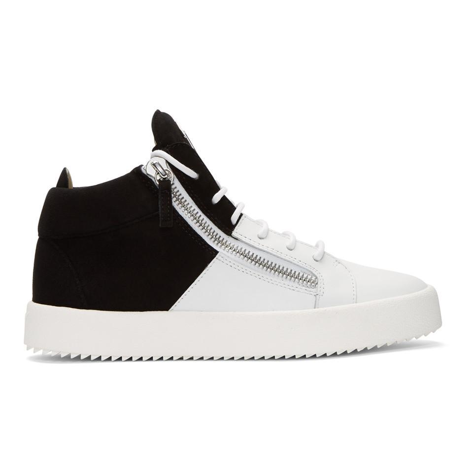 Giuseppe Zanotti Black Sensory May London Sneakers cheap newest 2P7YrI6Jq