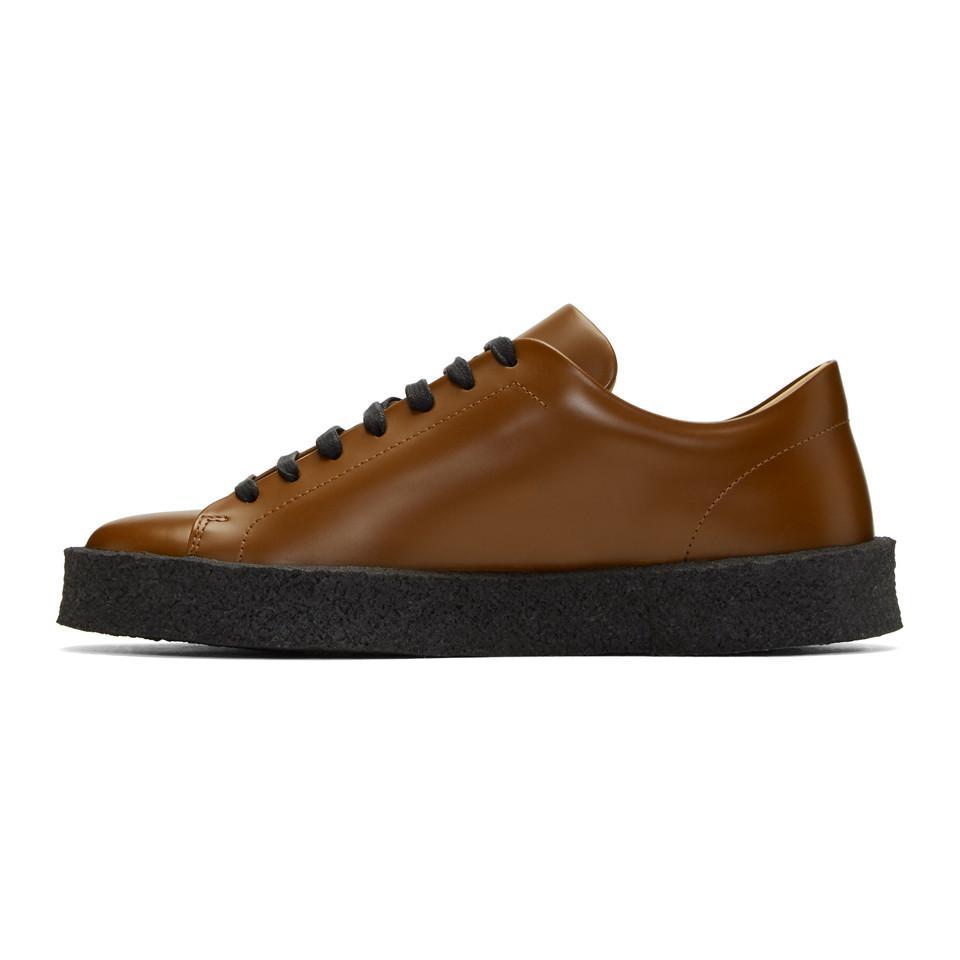 Brown Antick Sneakers Jil Sander 0e4Y4u