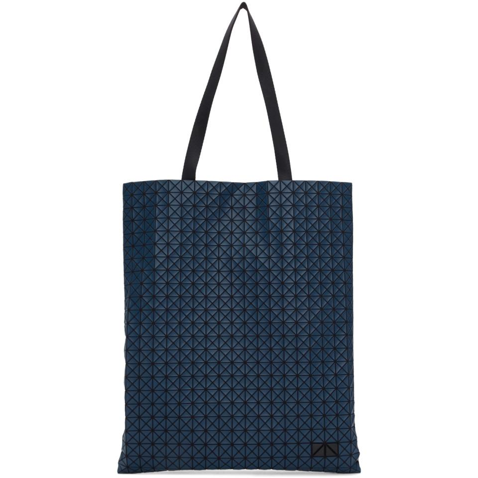 d5a34a77e0f2 Lyst - Bao Bao Issey Miyake Navy Crispy Tote in Blue for Men