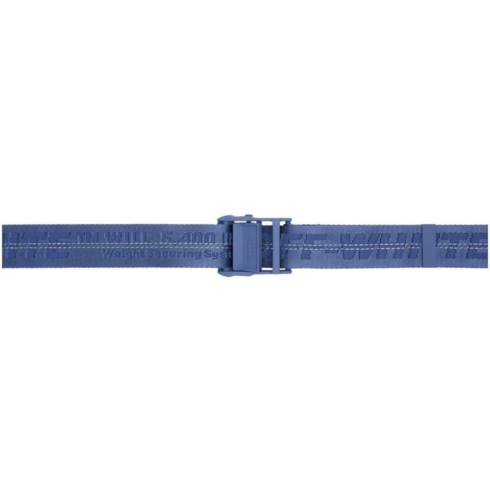 e07760d482b67 Lyst - Ceinture bleue Classic Industrial Off-White C O Virgil Abloh ...