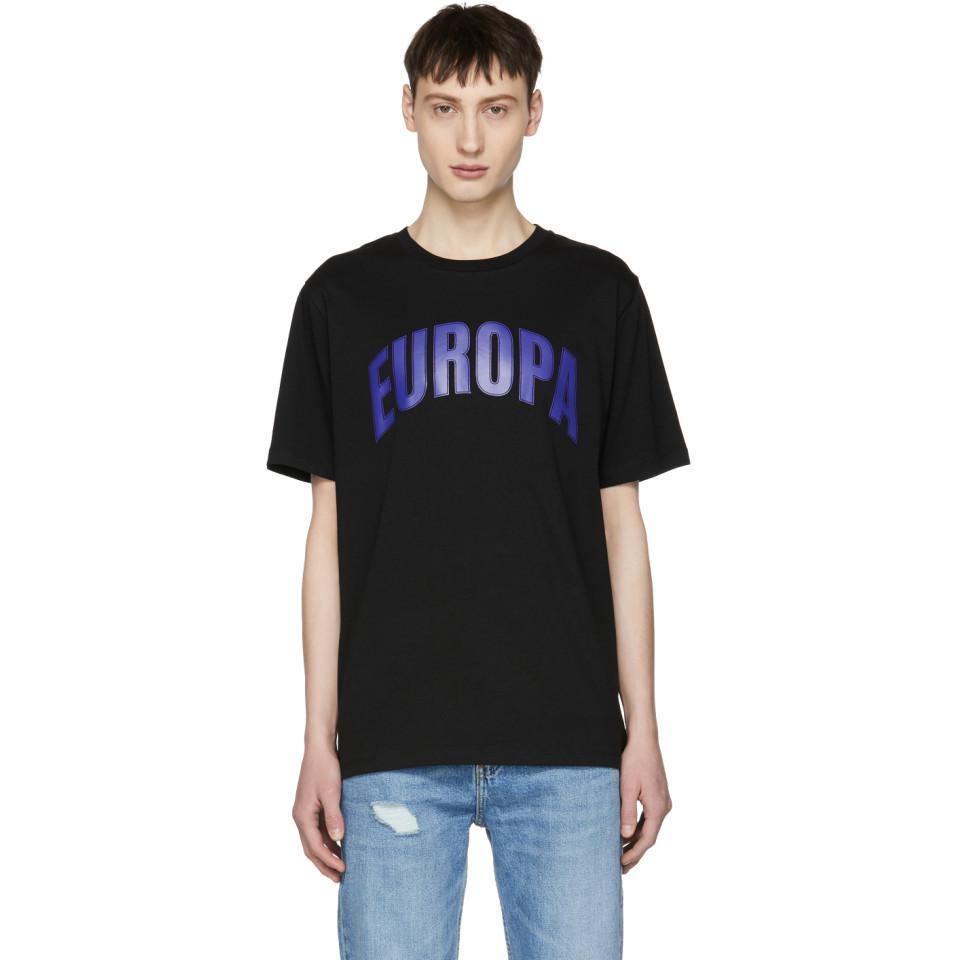 Discounts Cheap Online Black Page College Europa T-Shirt Études Studio Outlet Amazing Price Cheap Sale Big Discount Cheap Sale Clearance Classic OwD6kH