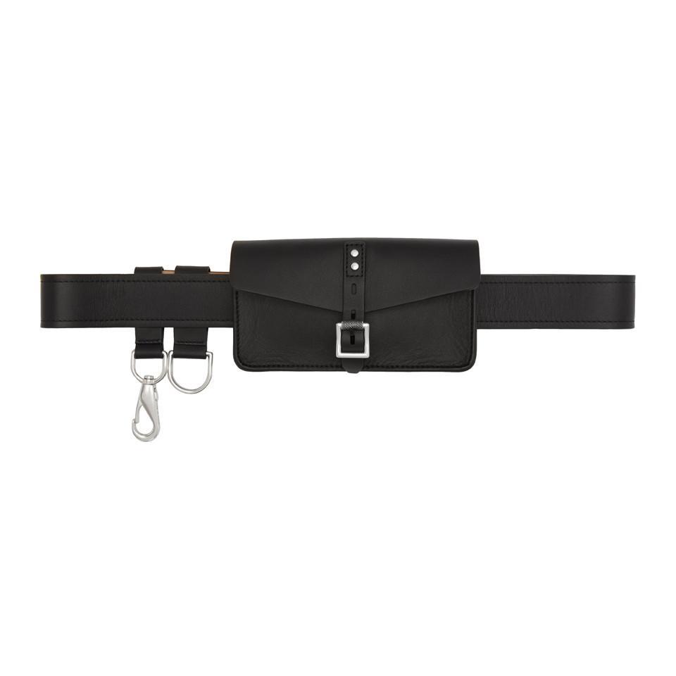 Lyst - Sac-ceinture noir Dwight Rag   Bone en coloris Noir 0fae736d08f
