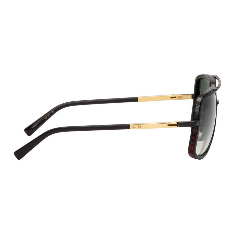 9ac3c1a916bd Lyst - DITA Black Mach-one Sunglasses in Black for Men