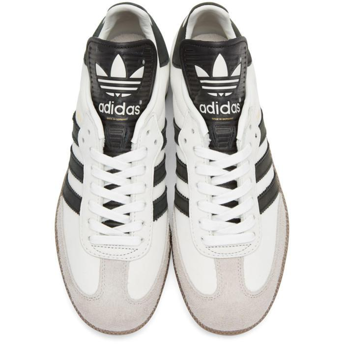separation shoes 0a798 849c1 ... where to buy lyst adidas originals off white samba classic og mig  sneakers in e8b3f cd0cf