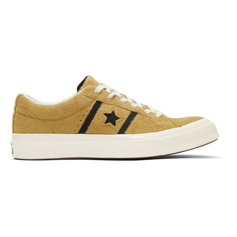31d3ad598998 Lyst - Converse Yellow Suede One Star Academy Sneakers for Men