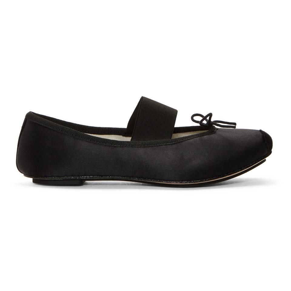 Repetto Black Theatre Ballerina Flats JvnQFUl4x