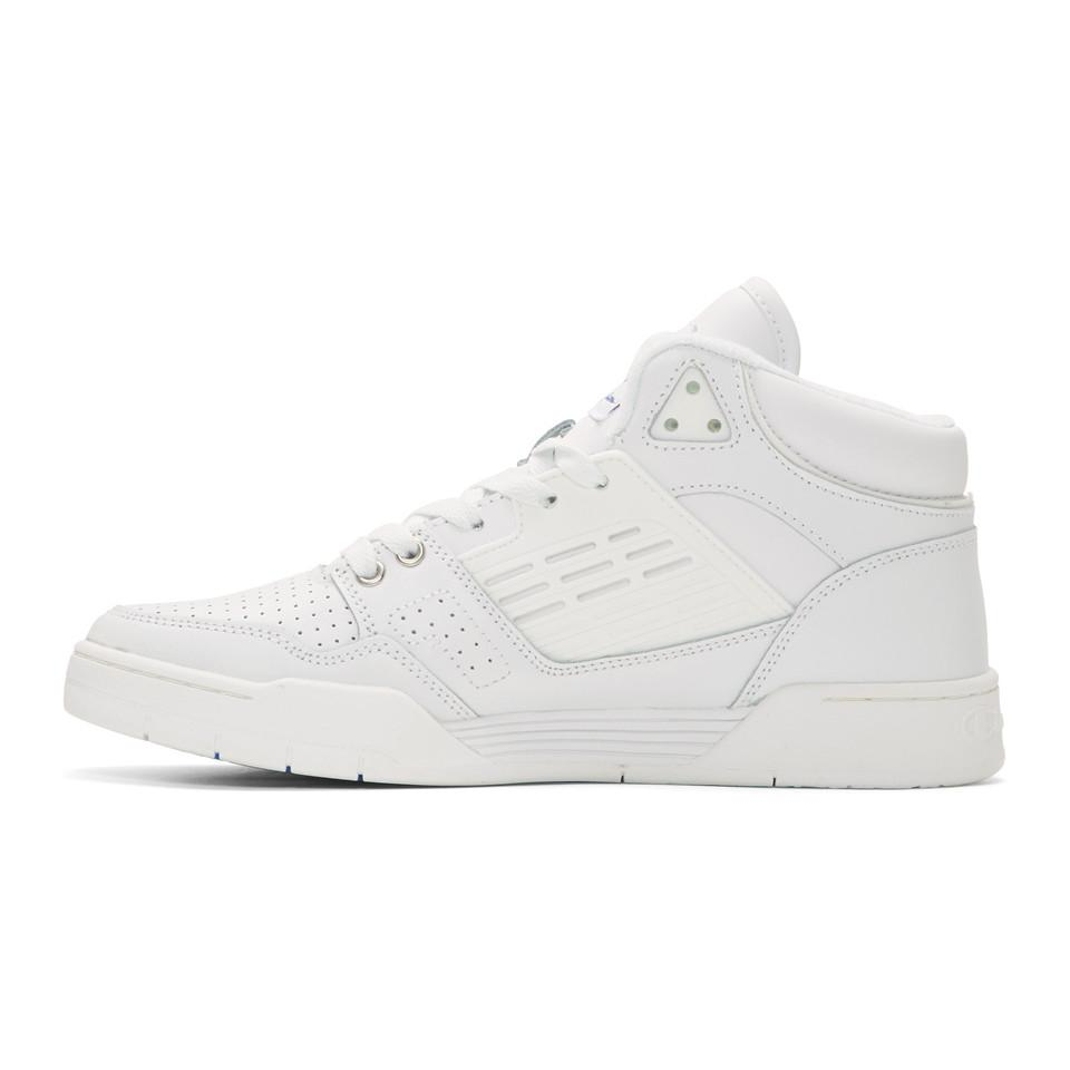 be50f41bc Champion - White 3 On 3 Sp High-top Sneakers for Men - Lyst. View fullscreen