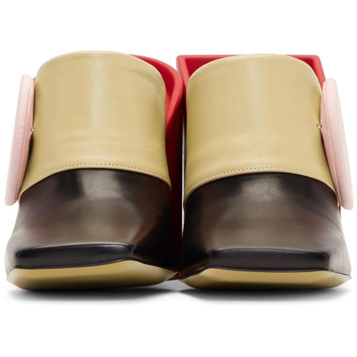 Pre Order Cheap Price Best Sale Multicolor Les Mules Boutons Heels Jacquemus 7oA7dJoNJX