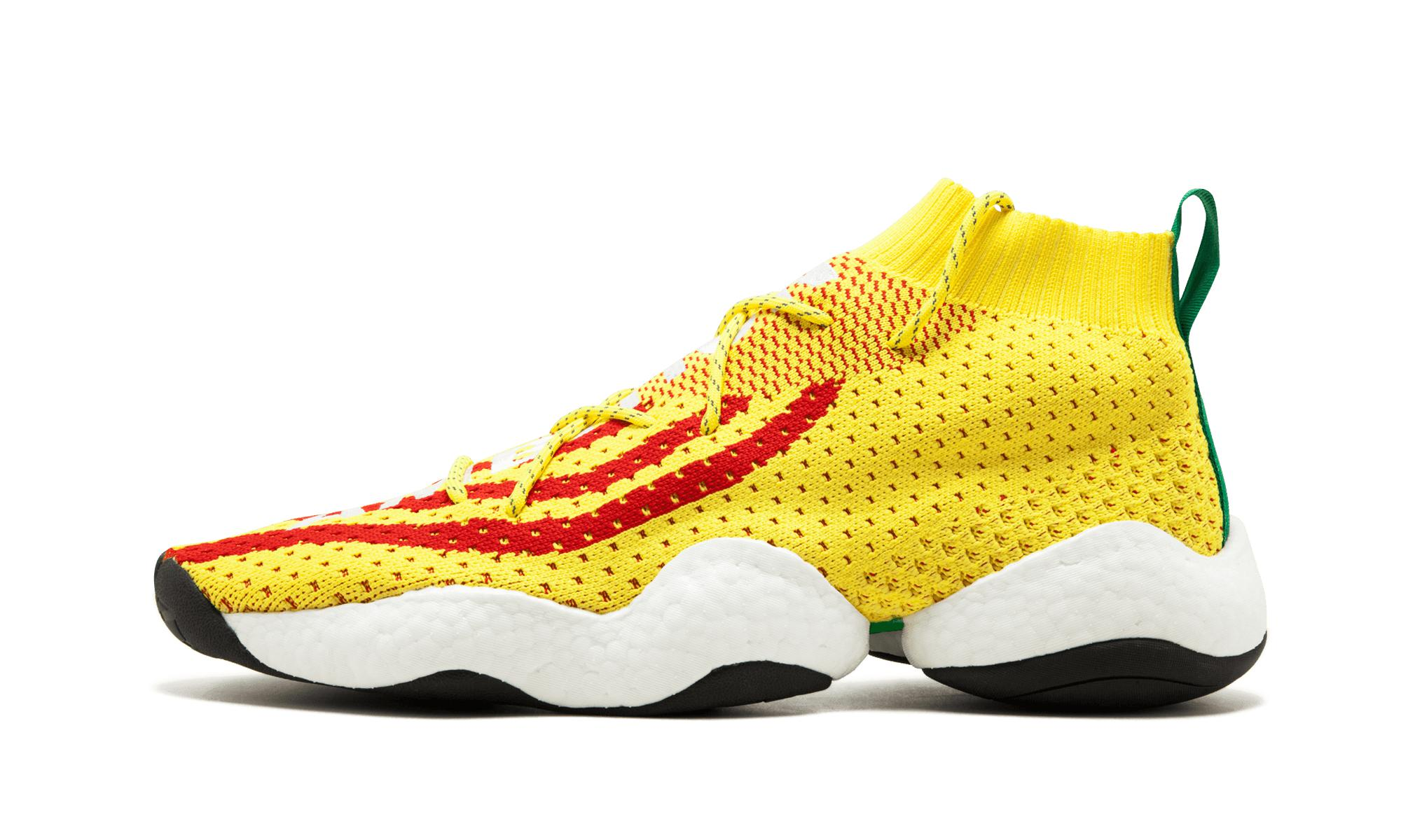 new arrival 014fb 3f516 Adidas - Yellow Crazy Byw Pharrell Williams for Men - Lyst. View fullscreen