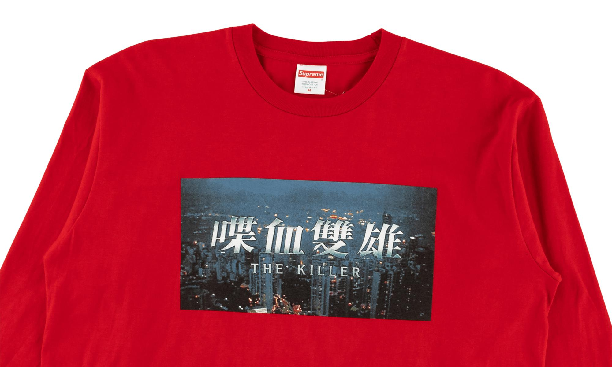 bce0dd8e4d55 Supreme The Killer L/s Tee in Red for Men - Lyst