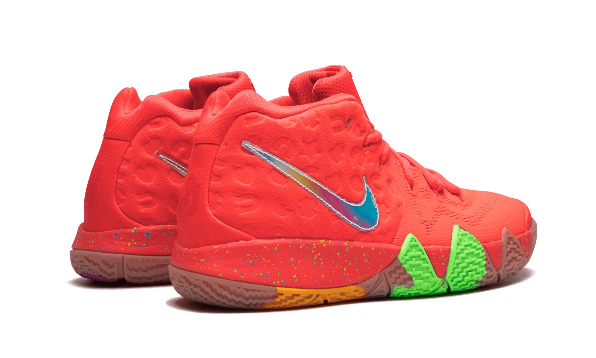 57341719db1 Lyst - Nike Kyrie 4 Lucky Charms (gs) in Red for Men