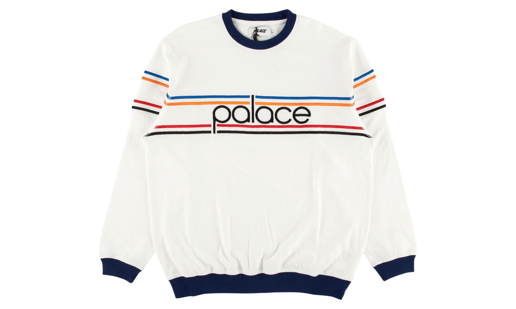 236655ca8e8e Palace Bennytron Crew in Blue for Men - Lyst