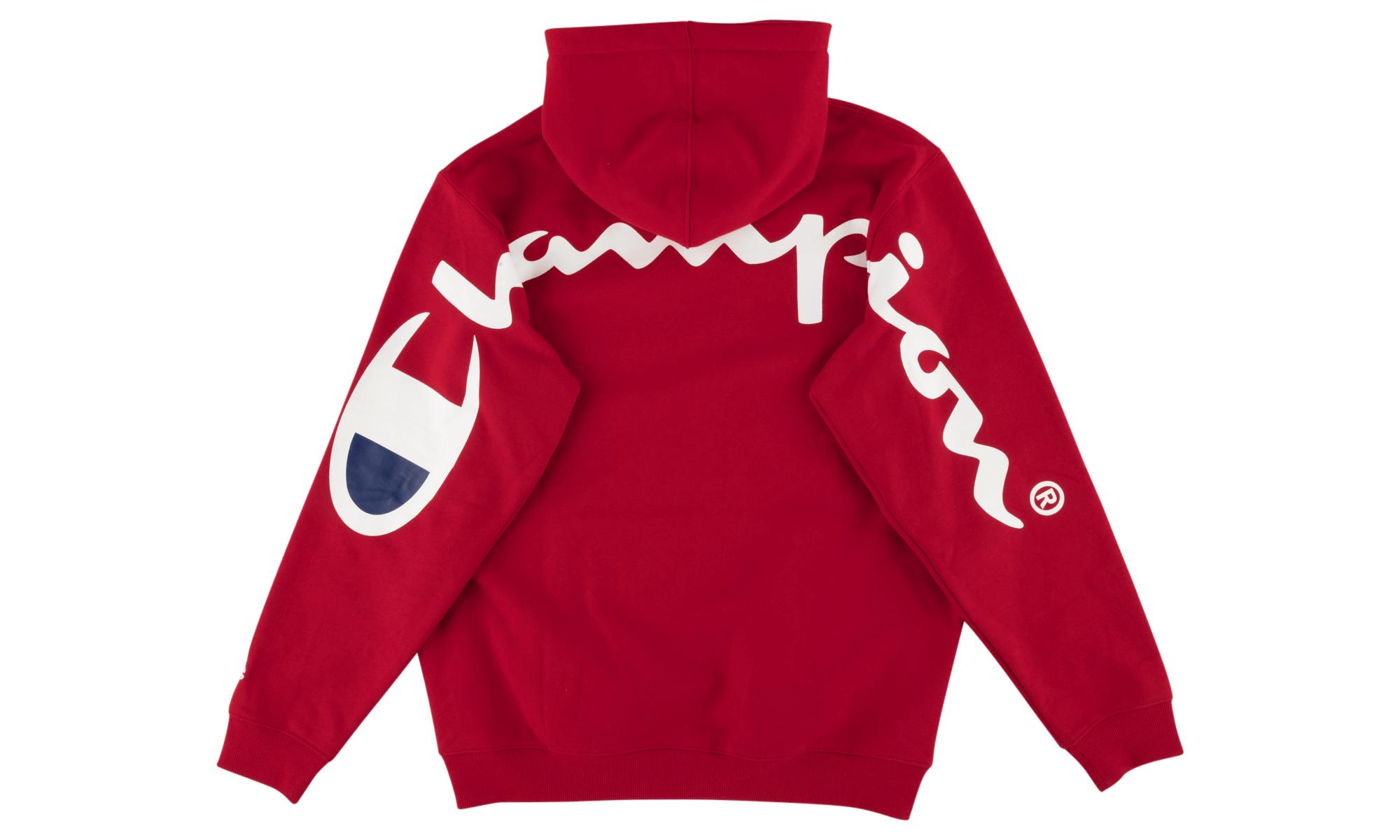 cf4e40d04fb3 Lyst - Supreme Champion Hooded Sweatshirt in Red for Men