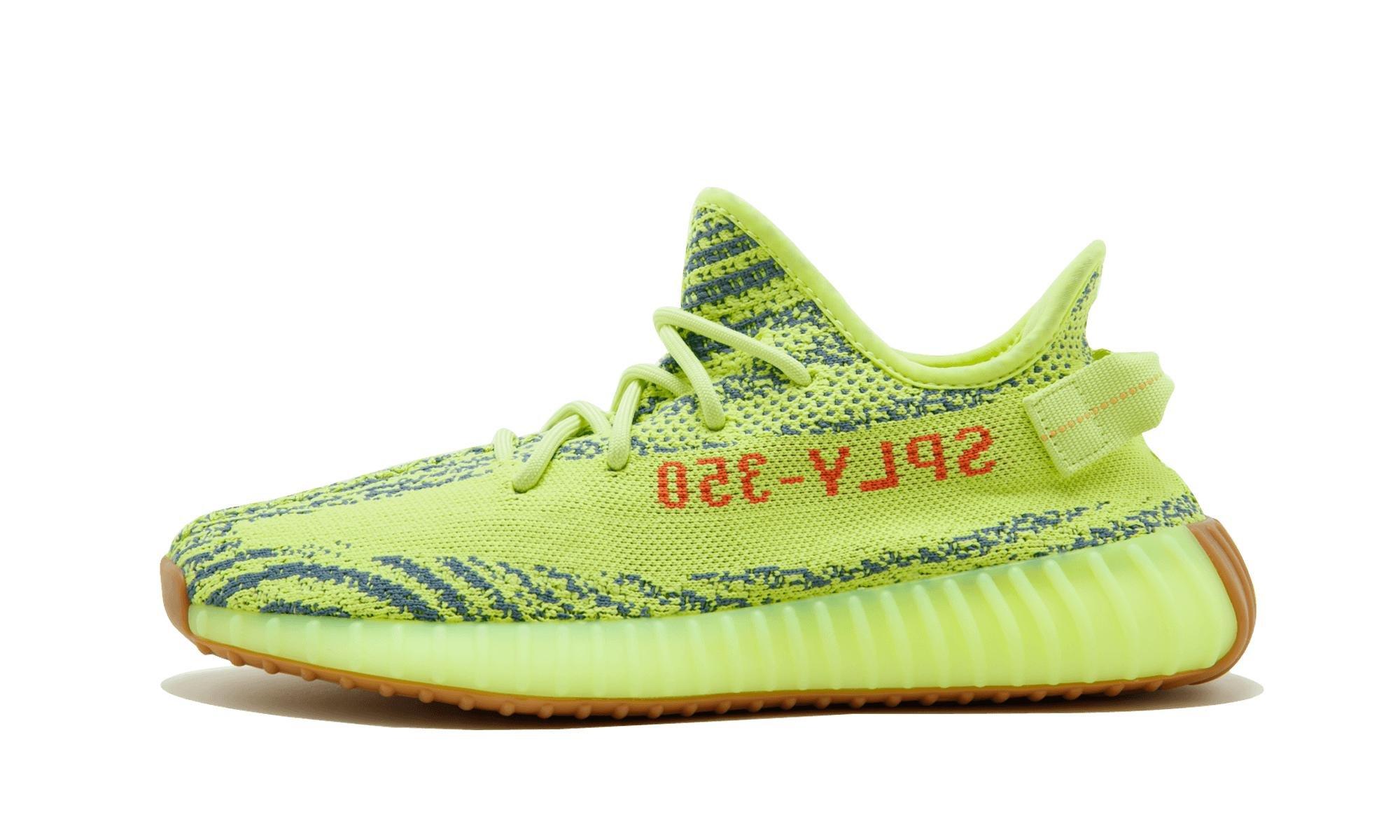 lyst adidas yeezy impulso 350 v2 in verde per gli uomini.