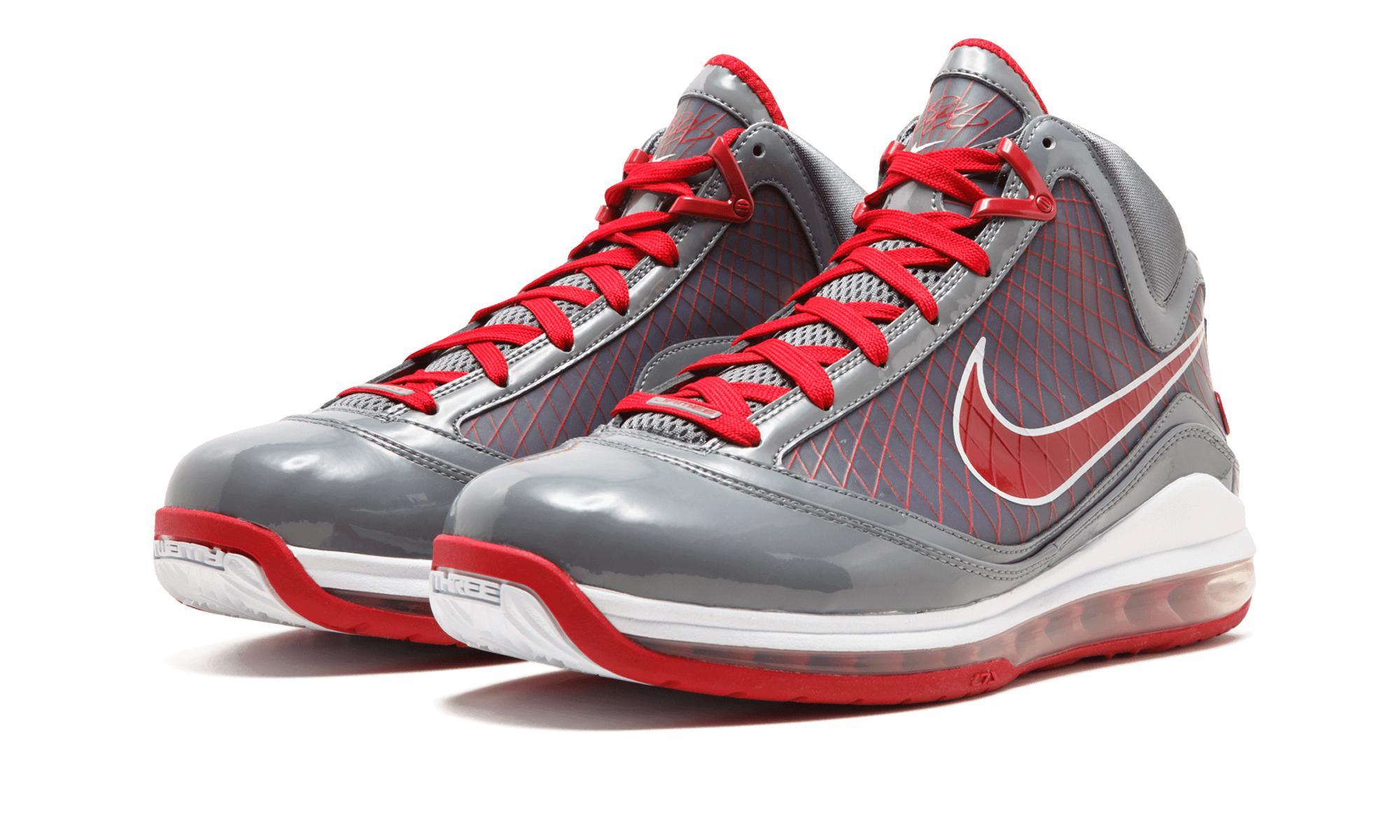 bc37e35bbfe Nike - Red Air Max Lebron 7 Tb for Men - Lyst. View fullscreen
