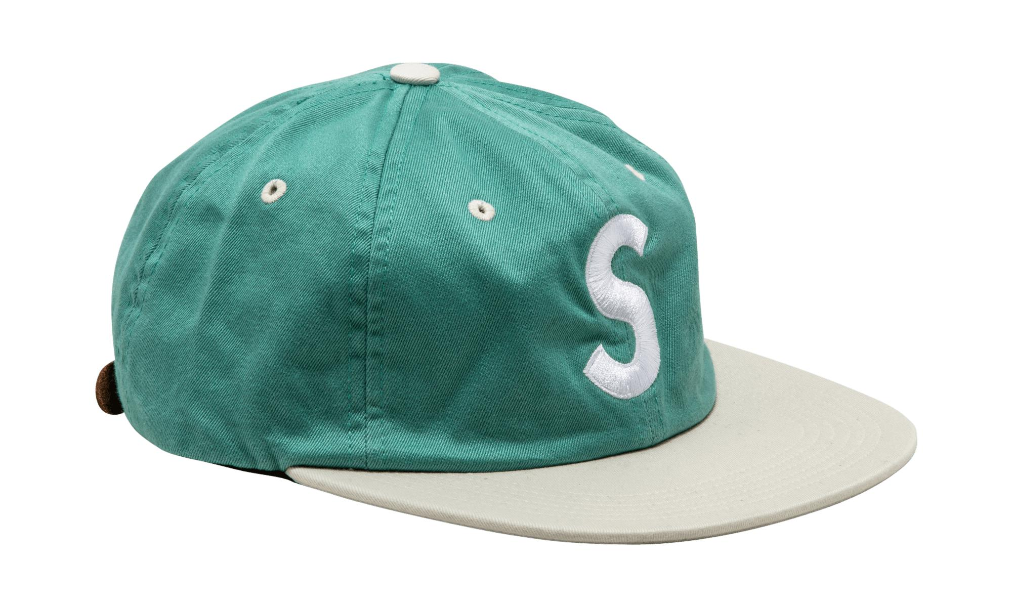 3cd389ce2a6 Supreme - Green Washed S Logo 6-panel for Men - Lyst. View fullscreen