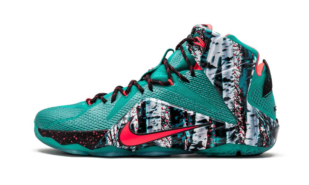 15048529c3f0 Nike Lebron 12 Xmas in Green for Men - Lyst