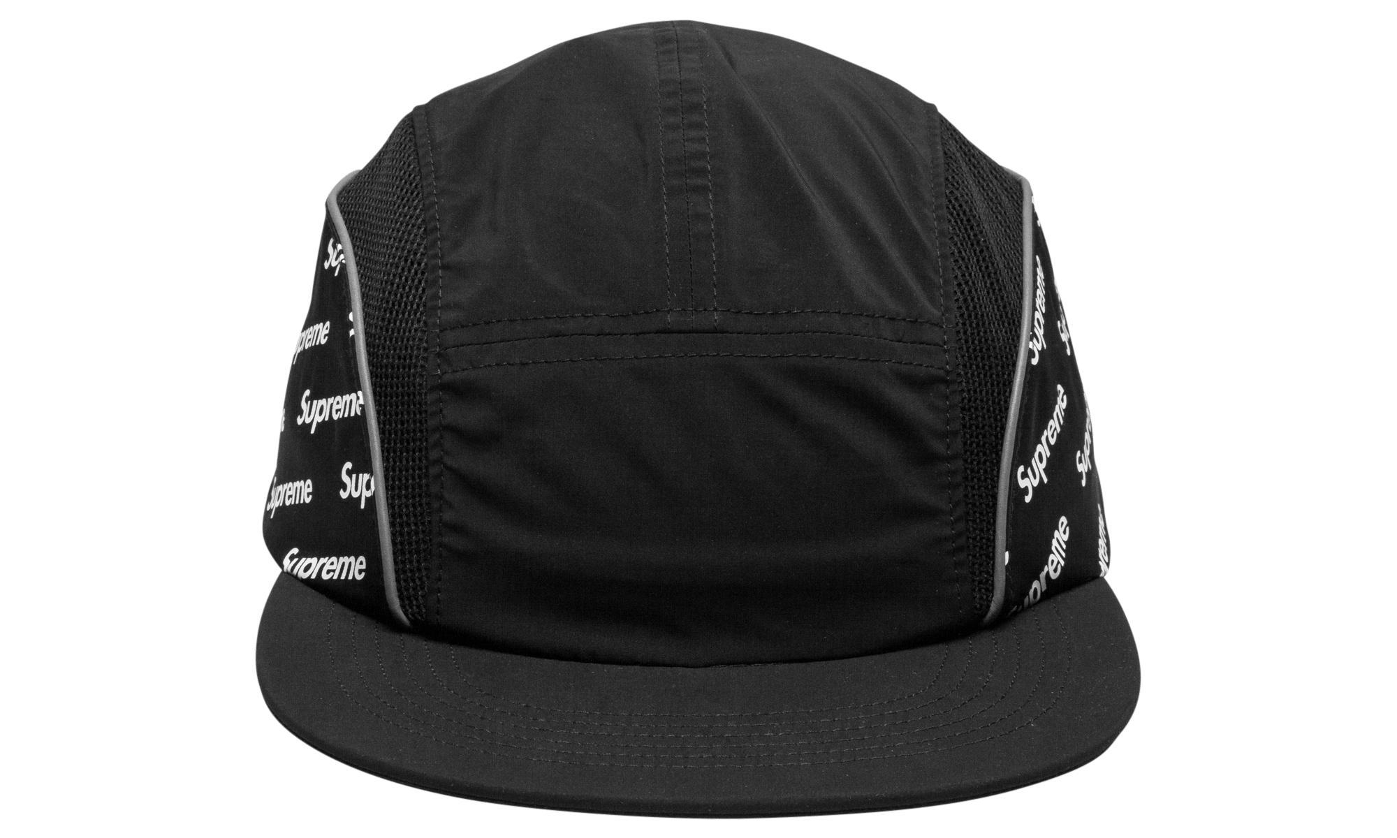 8c69af4820c Supreme - Black Diagonal Logo Side Panel Camp for Men - Lyst. View  fullscreen