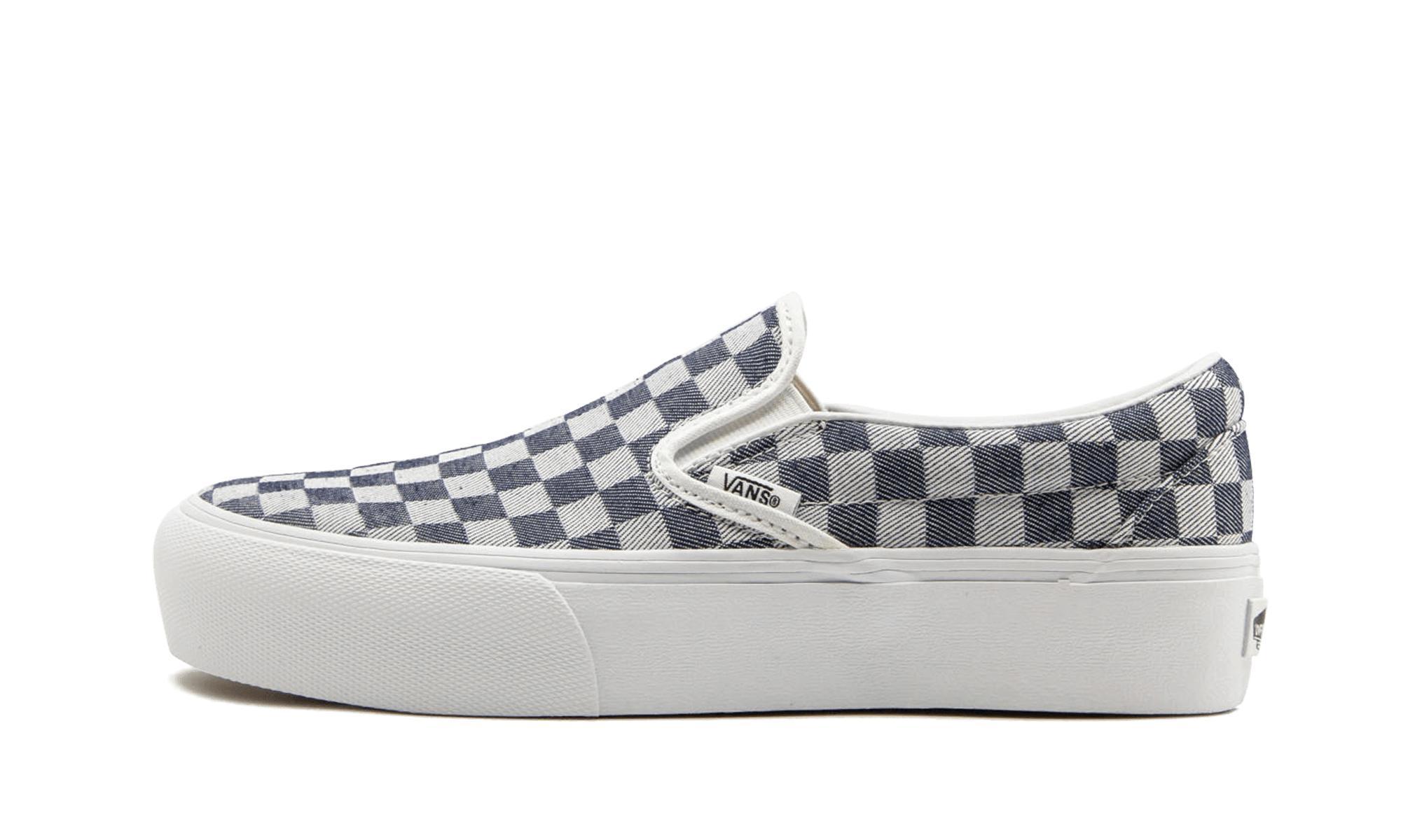fe7b2eaa6e3ea2 Lyst - Vans Slip-on Platform (checkerboard for Men