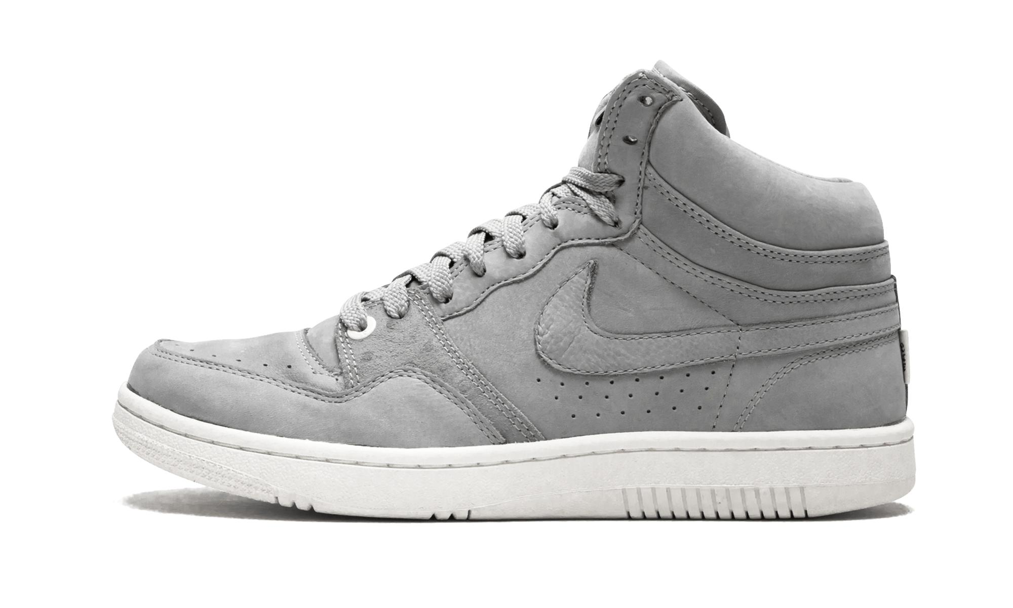 cb08310933fe93 Lyst - Nike Court Force High Lux in Gray for Men