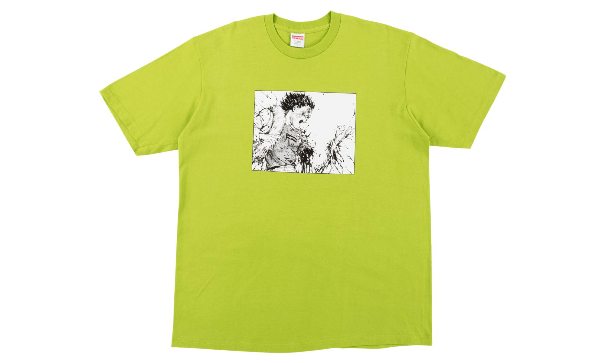3cca128e41b Supreme Akira Arm Tee Lime in Green for Men - Lyst