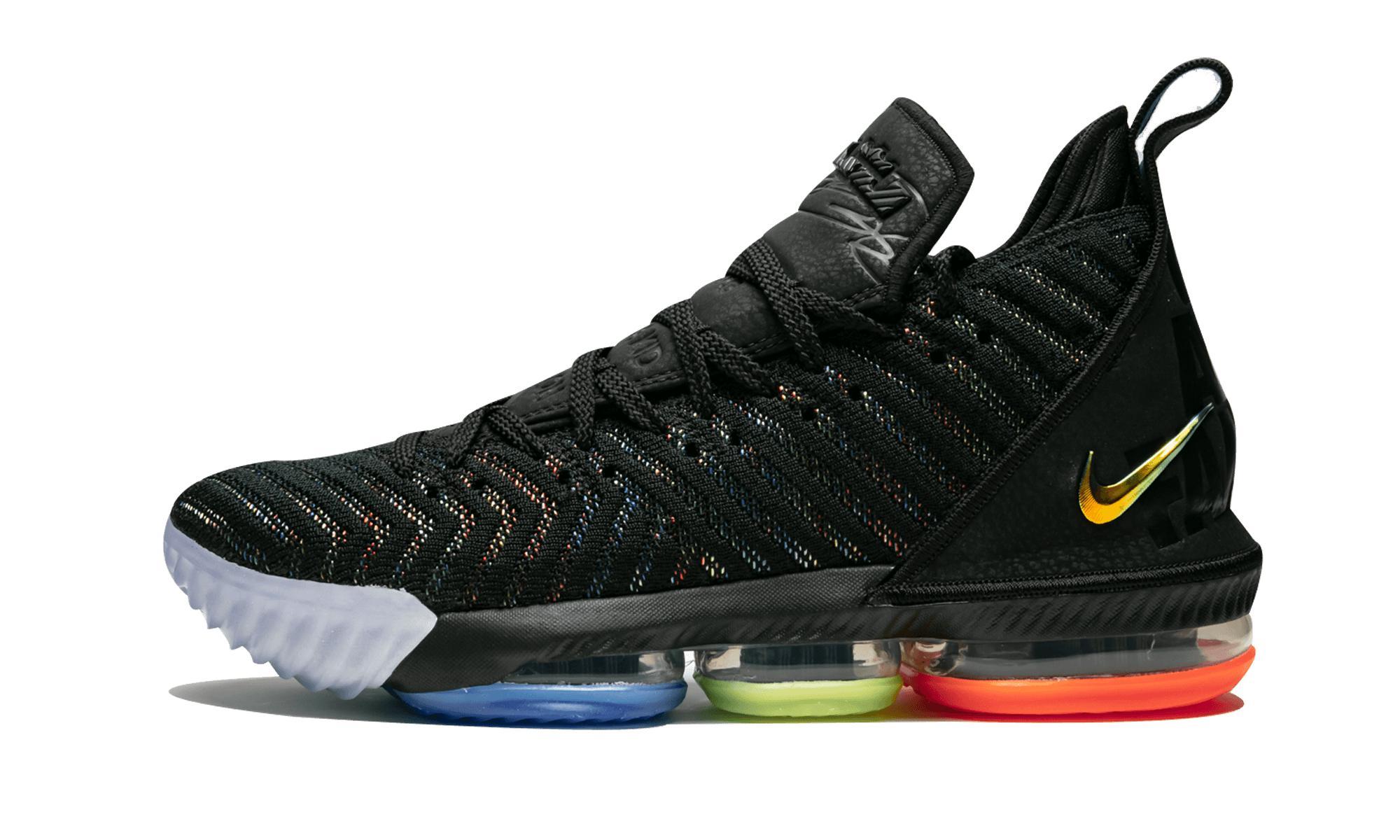 2456d03b718c Nike Lebron 16 in Black for Men - Save 14% - Lyst