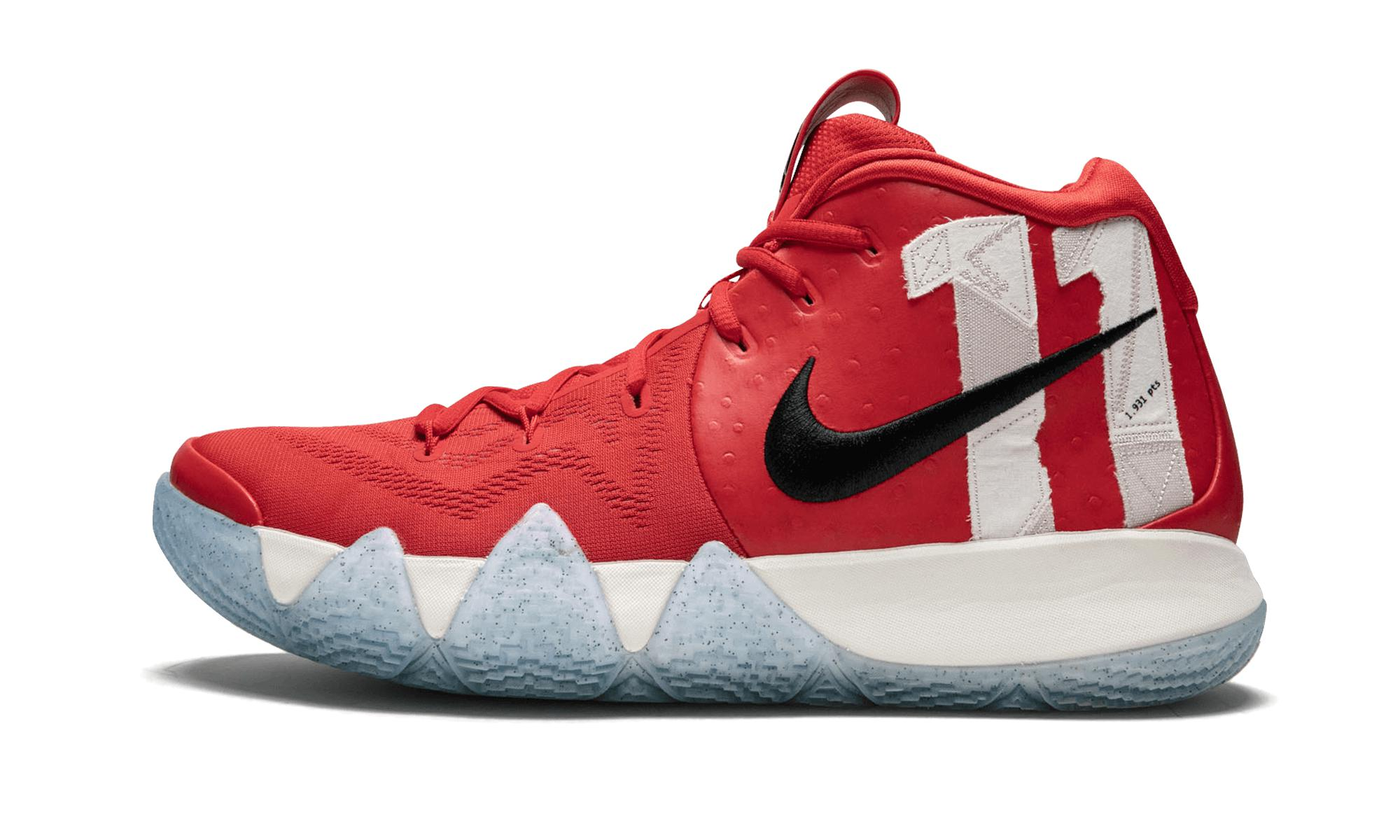 62c80856198d Lyst - Nike Kyrie 4 Tv Pe 16 in Red for Men - Save 20%