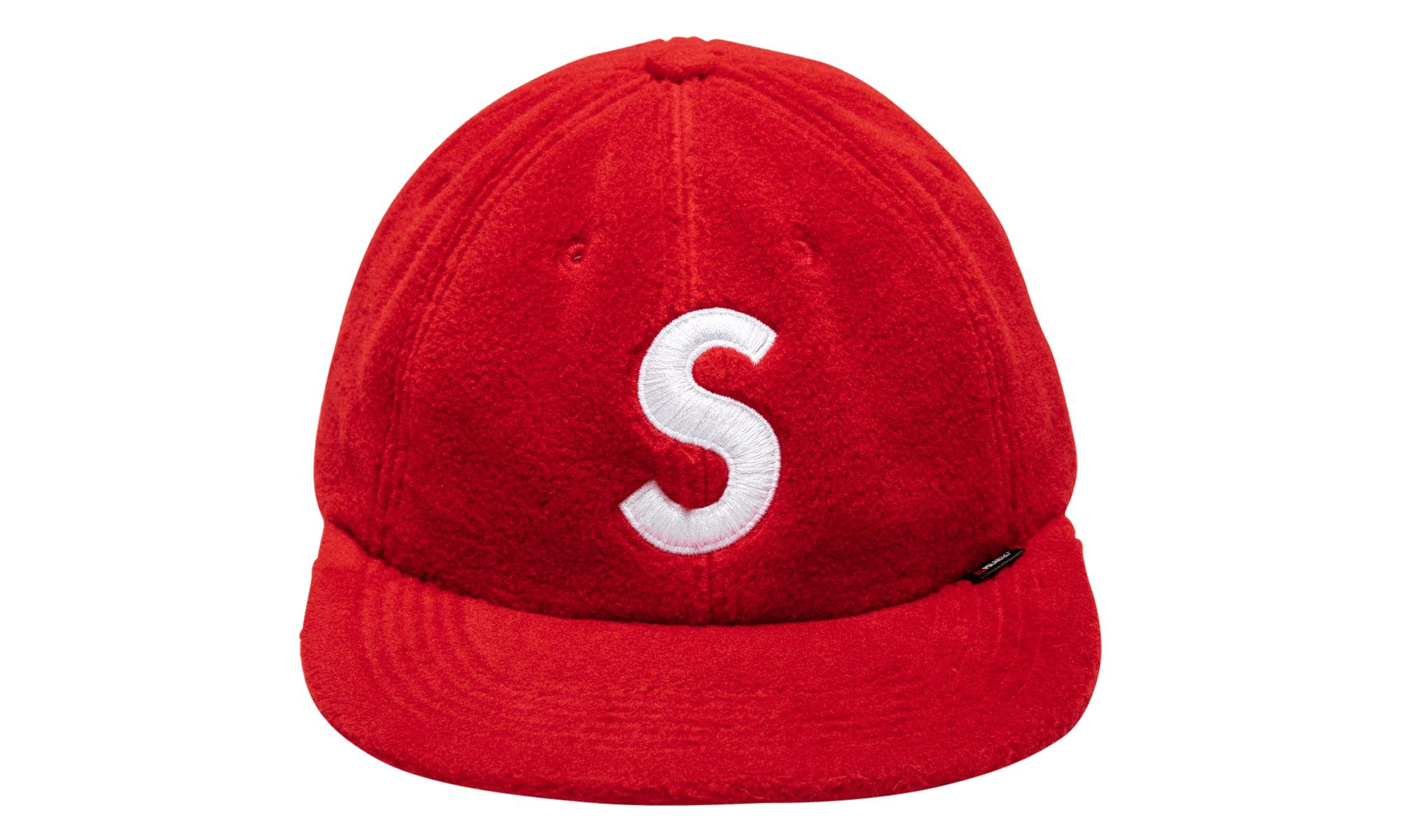 78512ba6 Supreme Polartec S Logo 6-panel Hat in Red for Men - Save 23% - Lyst