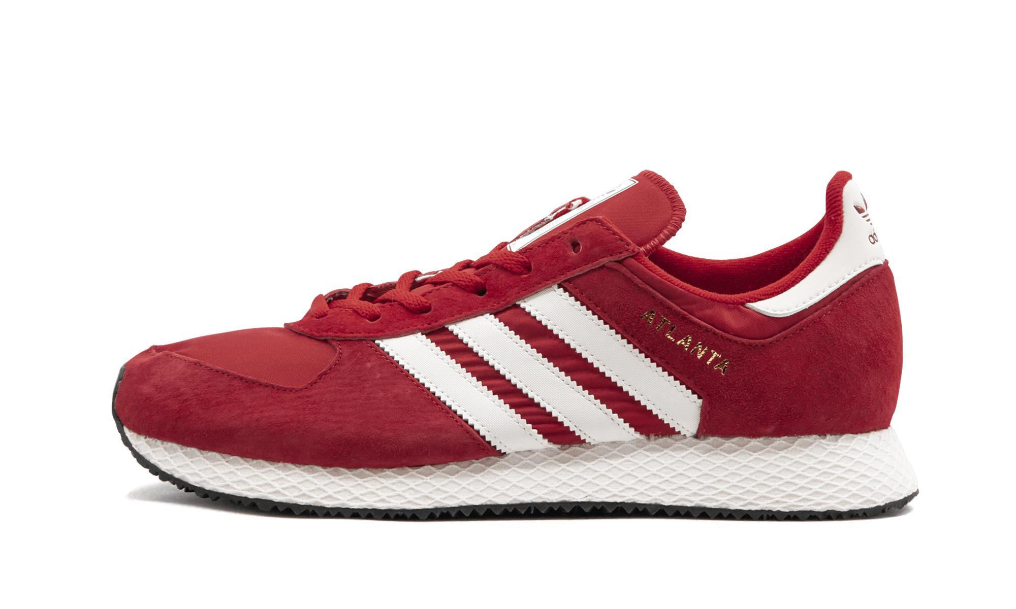 best sneakers 52ba6 18cc2 Adidas vermelho Atlanta homens Spzl para Lyst em zU7xq1qw