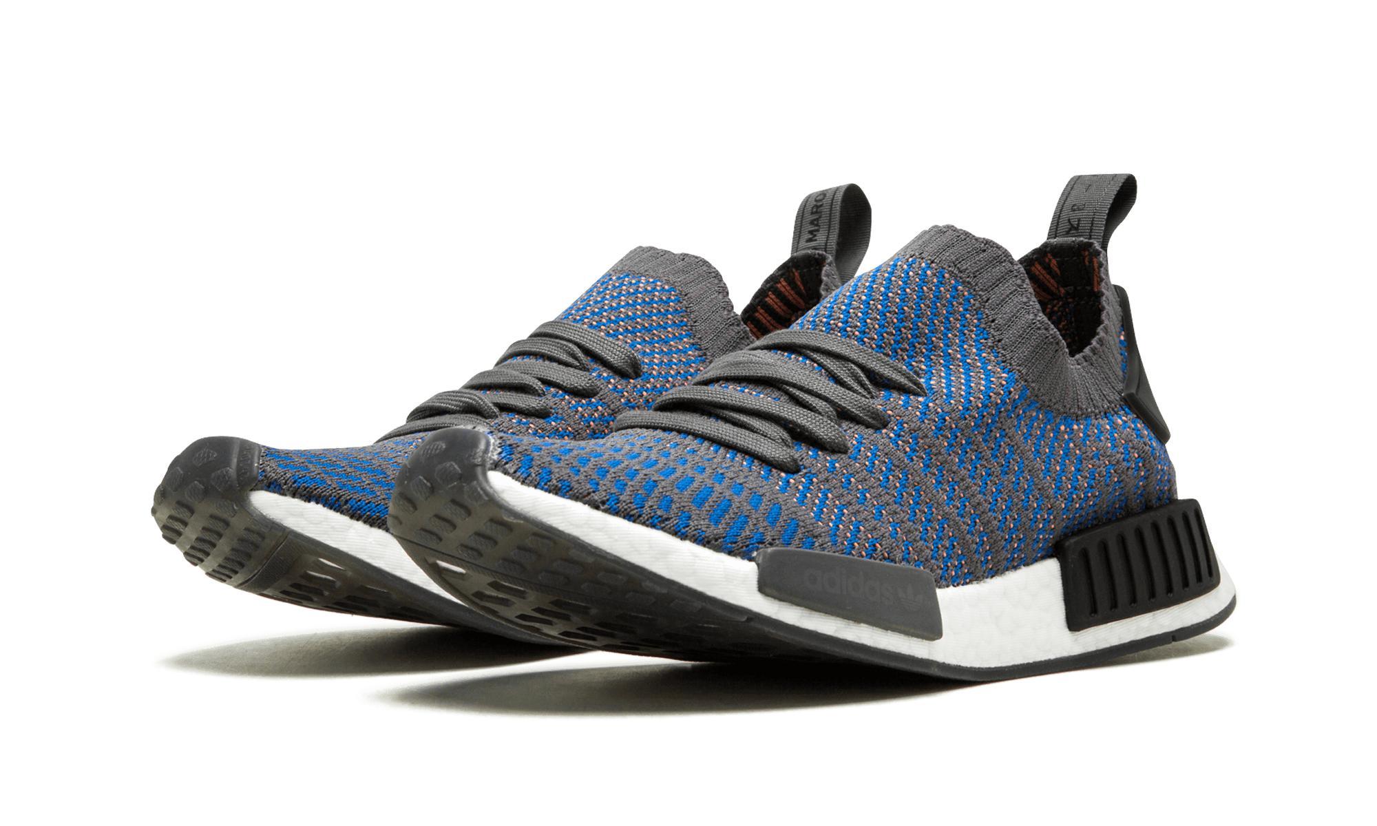 buy popular 3e7b7 392cf adidas Nmd R1 Stlt Pk in Blue for Men - Lyst