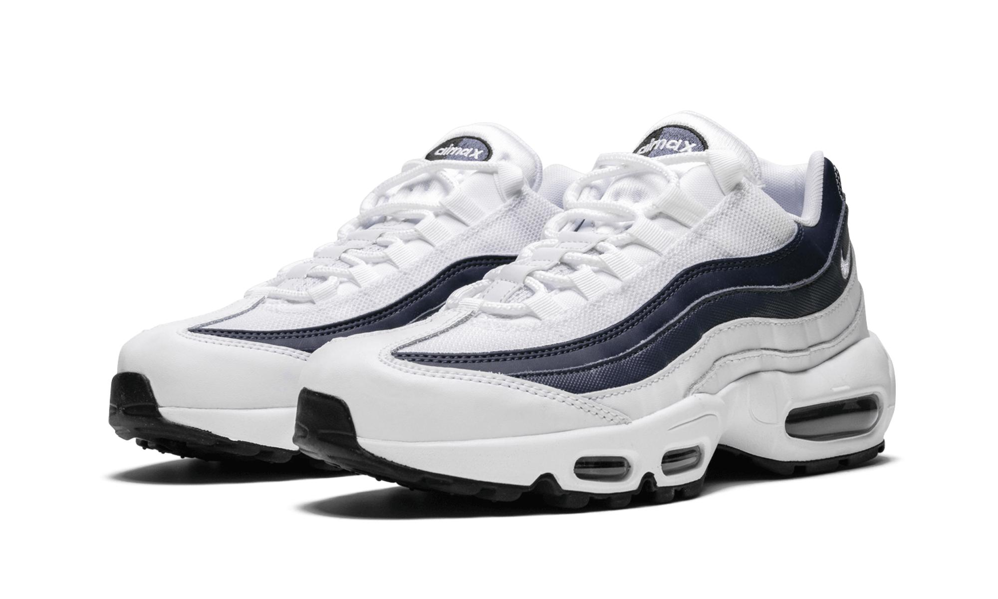 f77fbea092 Lyst - Nike Air Max 95 Essential in White for Men