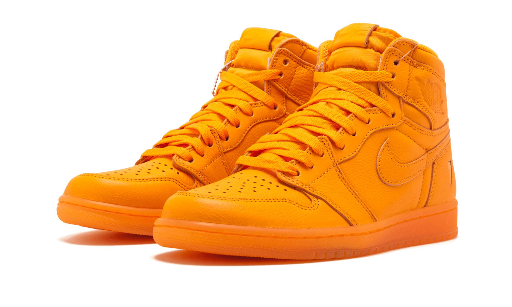 03c088322 Nike - Orange Air 1 Retro Hi Og G8rd for Men - Lyst. View fullscreen