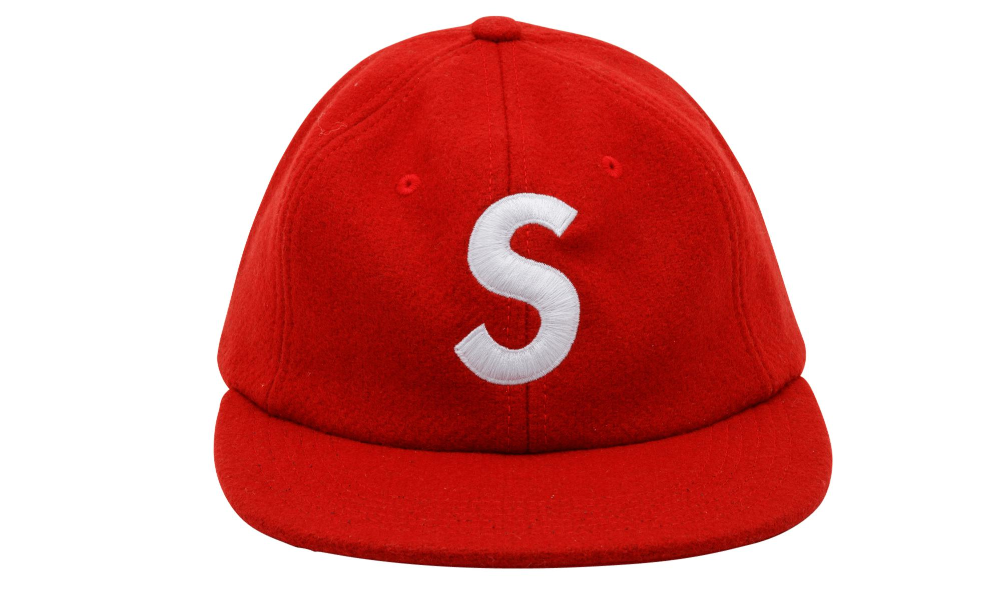 933001f33a4 Supreme S Logo 6-panel in Red for Men - Lyst