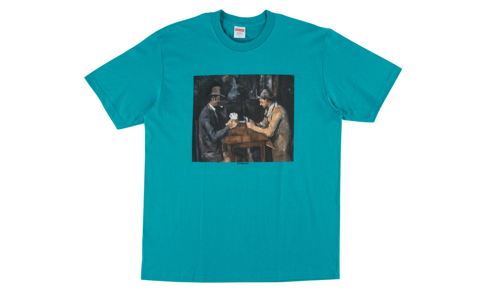 ed0dccf20 Lyst - Supreme Cards Tee in Blue for Men