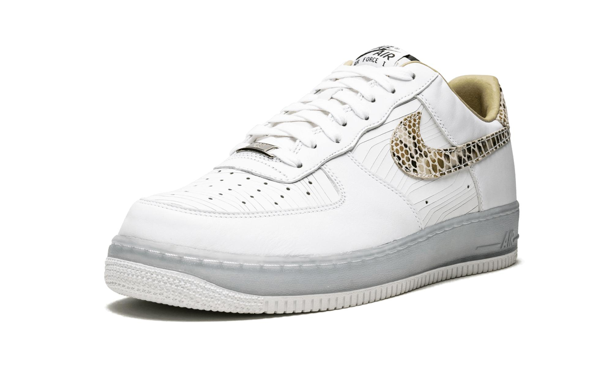 Men's White Air Force 1 Low Prm Cmft Qs 'brazil' Shoes Size 11.5