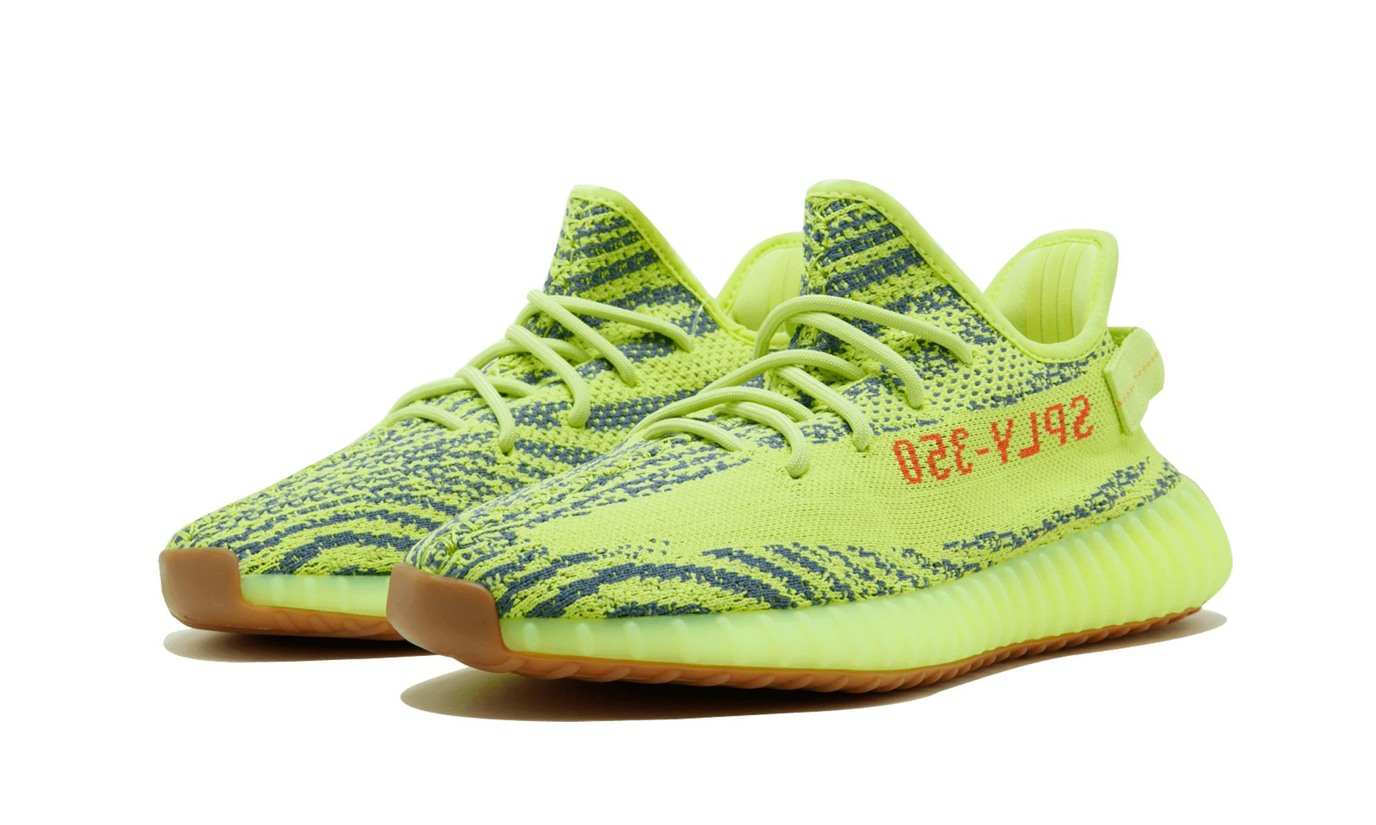a7171eece6a adidas Yeezy Boost 350 V2 in Green for Men - Save 42% - Lyst